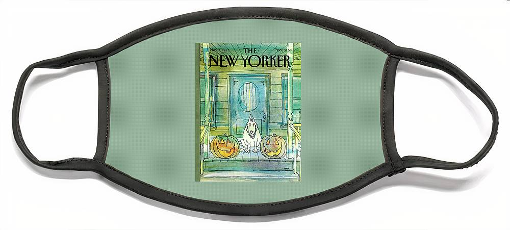 New Yorker November 4th, 1985 Face Mask