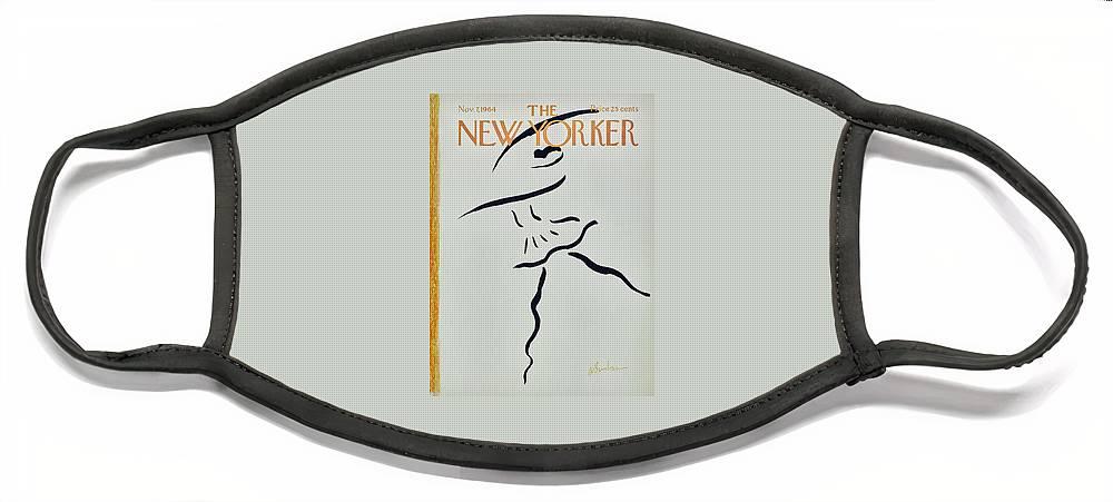 New Yorker November 7th 1964 Face Mask