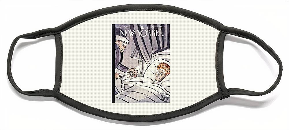 New Yorker October 16 1937 Face Mask