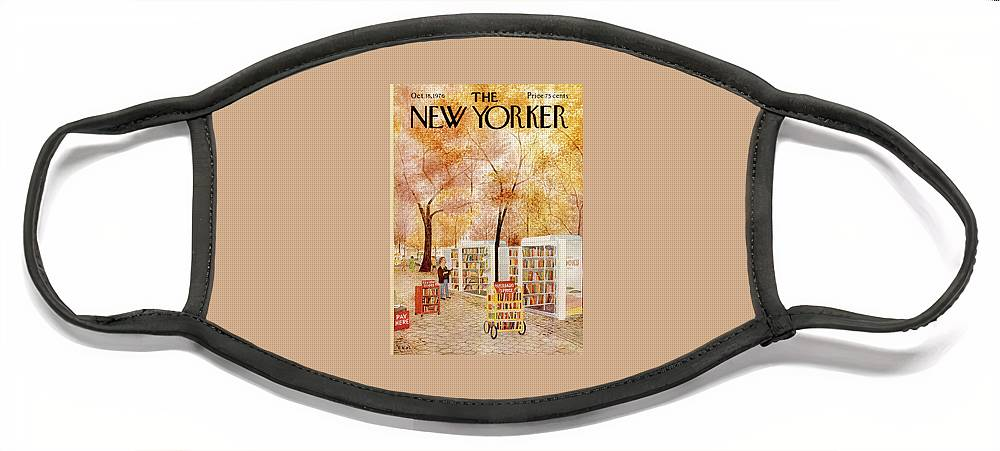 New Yorker October 18th, 1976 Face Mask
