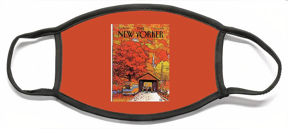 New Yorker October 19th, 1981 Face Mask