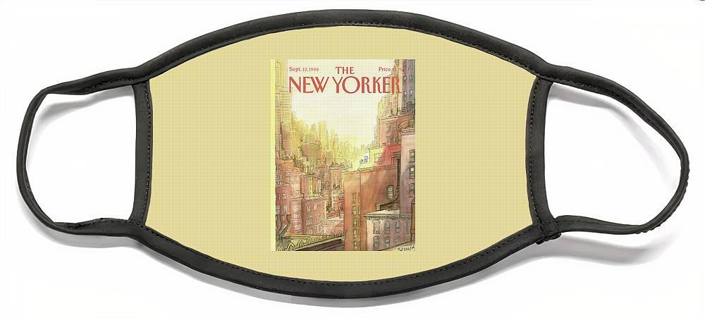 New Yorker September 12th, 1988 Face Mask