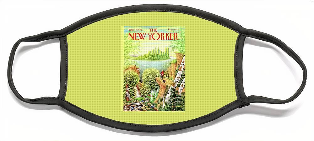 New Yorker September 17, 1990 Face Mask