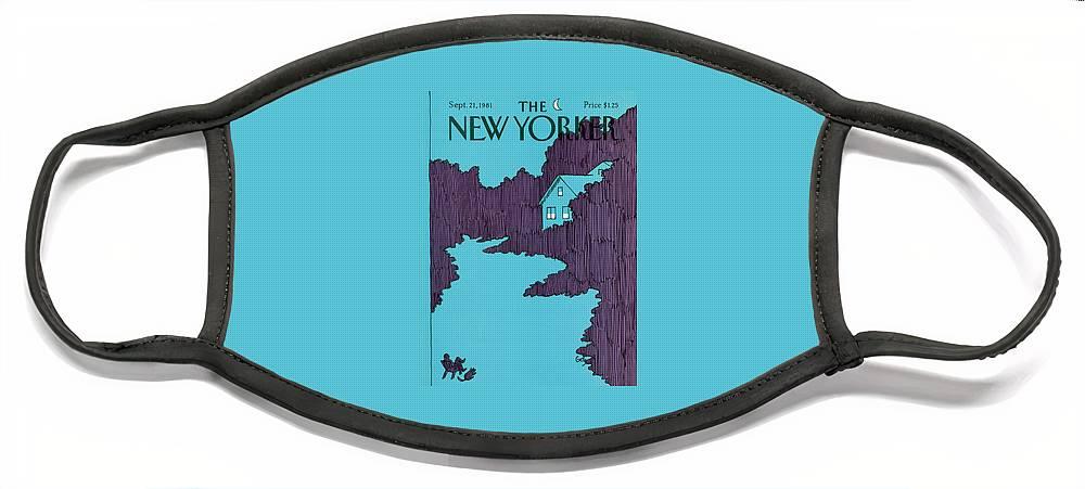 New Yorker September 21st, 1981 Face Mask