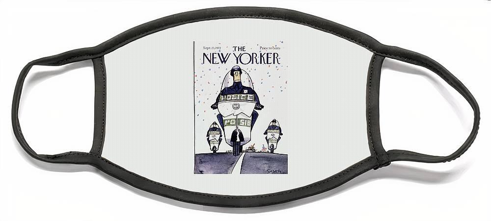 New Yorker September 23rd 1972 Face Mask