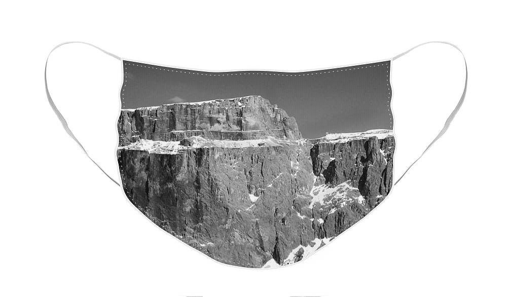 Europe Face Mask featuring the photograph Pordoi Joch - Italy by Juergen Weiss