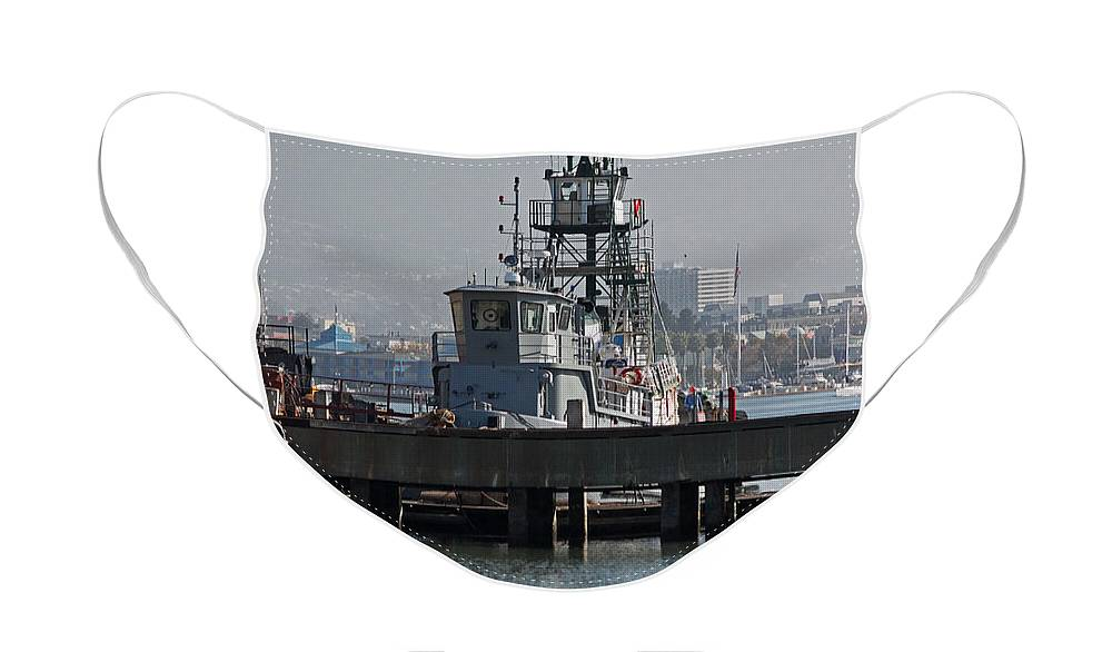 Boat Face Mask featuring the photograph Seaworthy by Suzanne Gaff