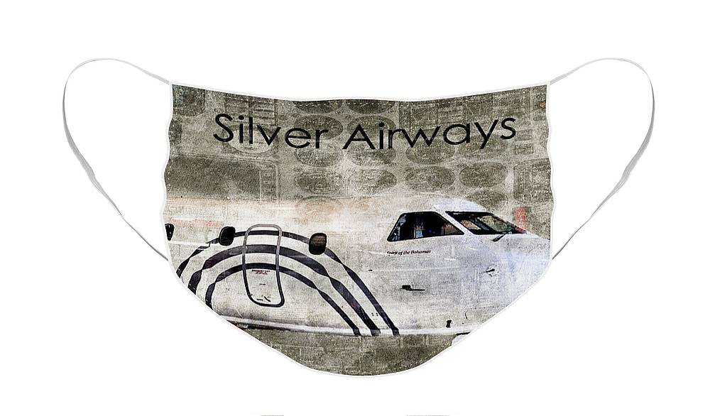 Diane Berry Face Mask featuring the photograph Silver Instrument Panel by Diane E Berry