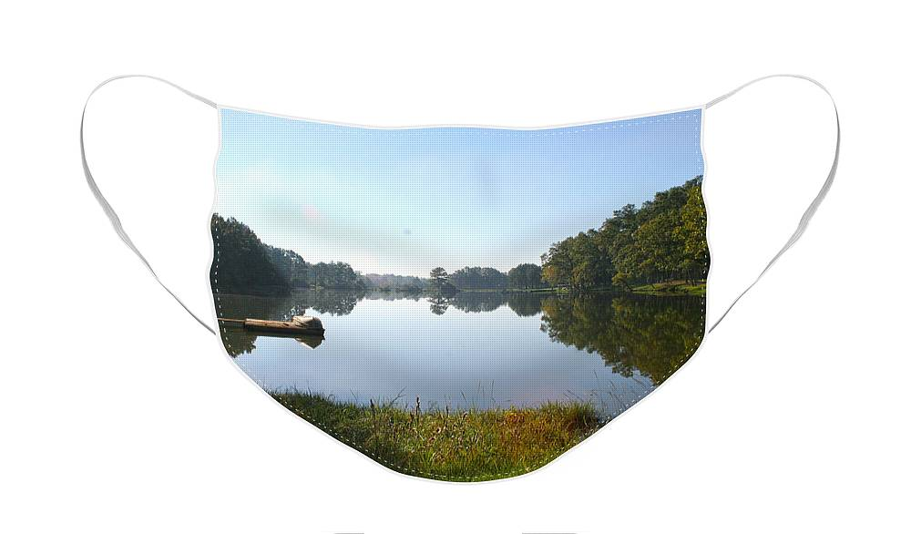 Lake Face Mask featuring the photograph Skipper Lake by Paul Anderson