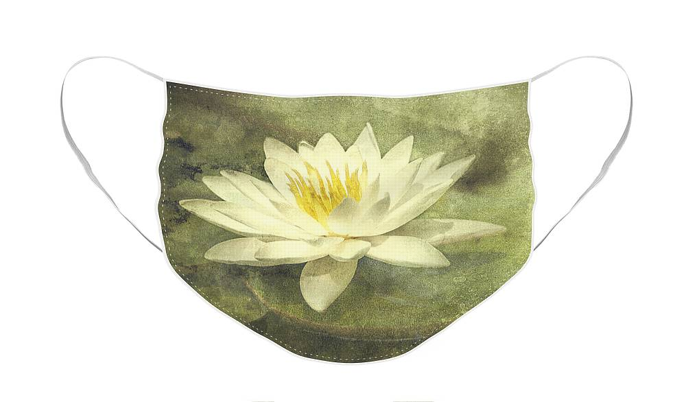 Water Lily Face Mask featuring the photograph Water Lily by Scott Norris