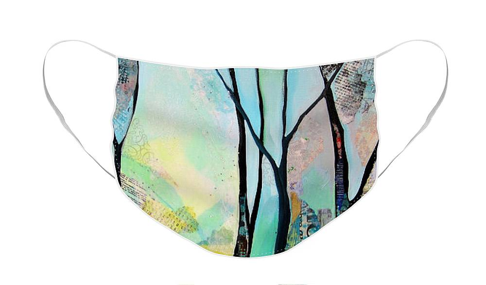 Tree Silhouette Face Masks