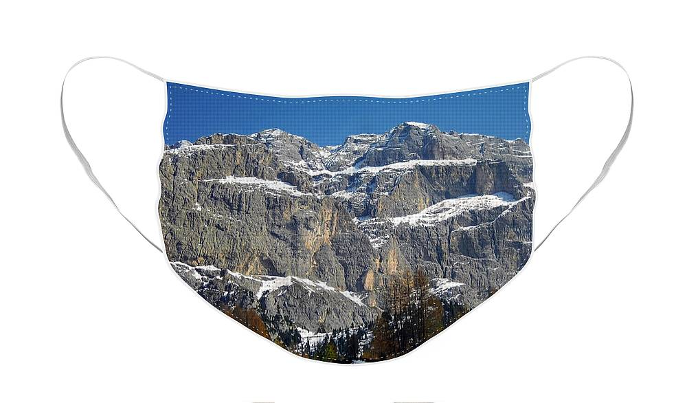 Europe Face Mask featuring the photograph Italian Dolomites ... by Juergen Weiss