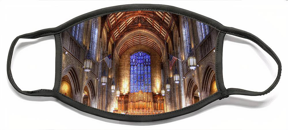Hdr Face Mask featuring the photograph Place of Prayer by Brian Fisher