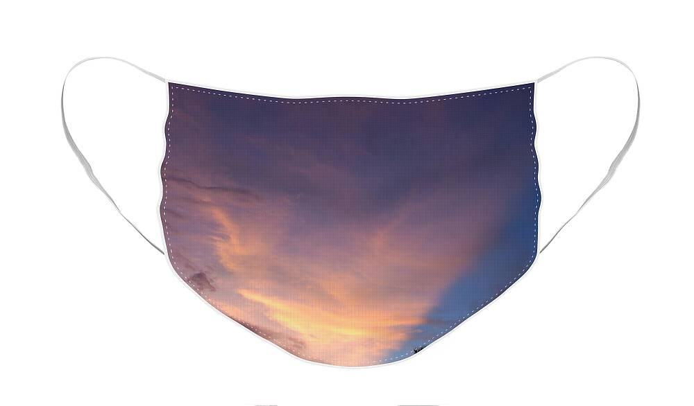 Sunset Face Mask featuring the photograph Sunset At Pine Tree by Rob Hans