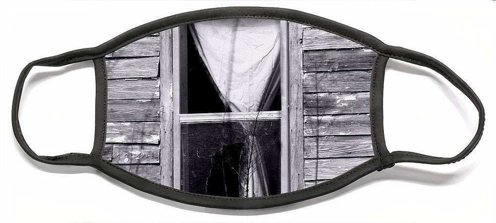 Windows Face Mask featuring the photograph Window by Amanda Barcon