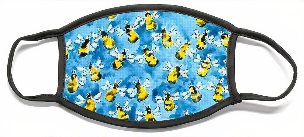Honey Bee Face Masks