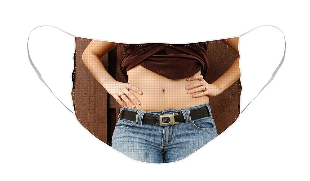 Body Face Mask featuring the photograph The G M Belt by Rob Hans