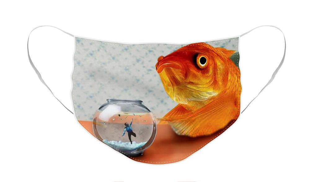 Goldfish Face Masks