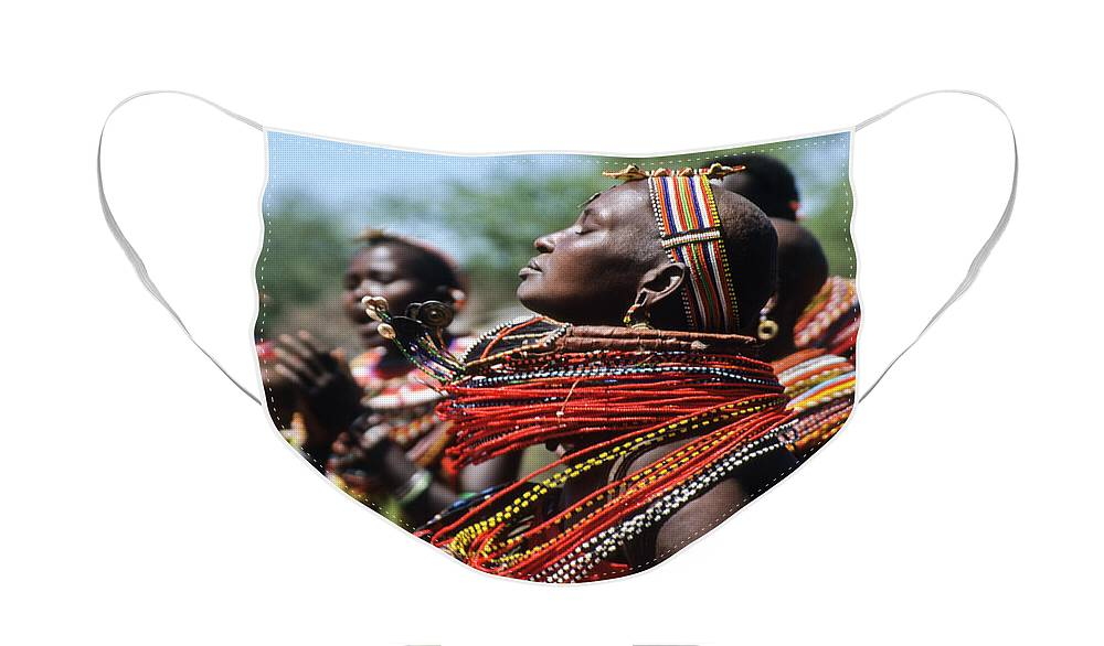 Africa Face Mask featuring the photograph African Rhythm by Michele Burgess