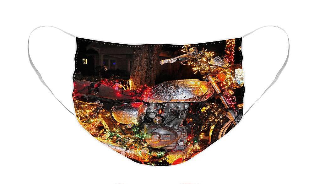 Skip Hunt Face Mask featuring the photograph An Xmas Miracle by Skip Hunt