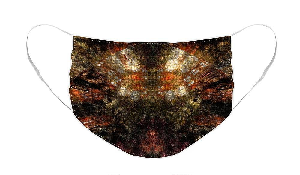 Fantasy Face Mask featuring the digital art Artifact by David Lane
