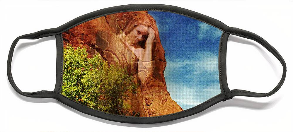 Artist Point Face Mask featuring the photograph Artist Point Muse by Richard Henne