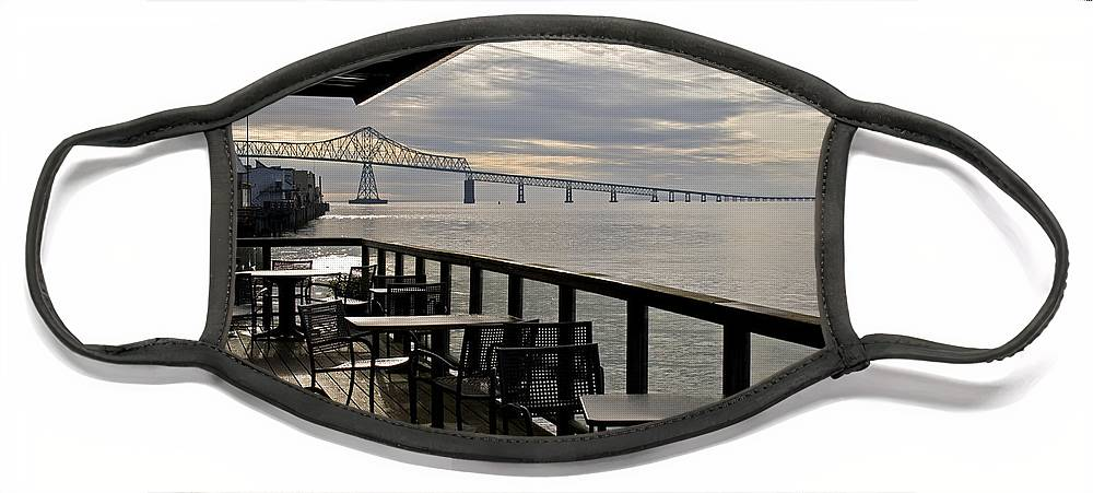 Scenic Face Mask featuring the photograph Astoria by Lee Santa