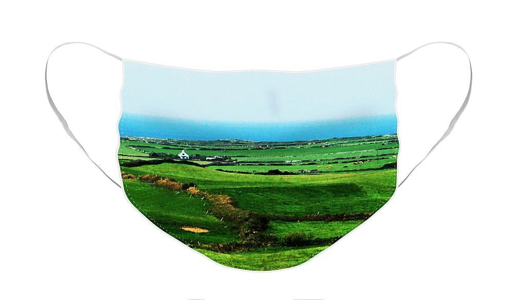 Ireland Face Mask featuring the photograph Atlantic View Doolin Ireland by Teresa Mucha