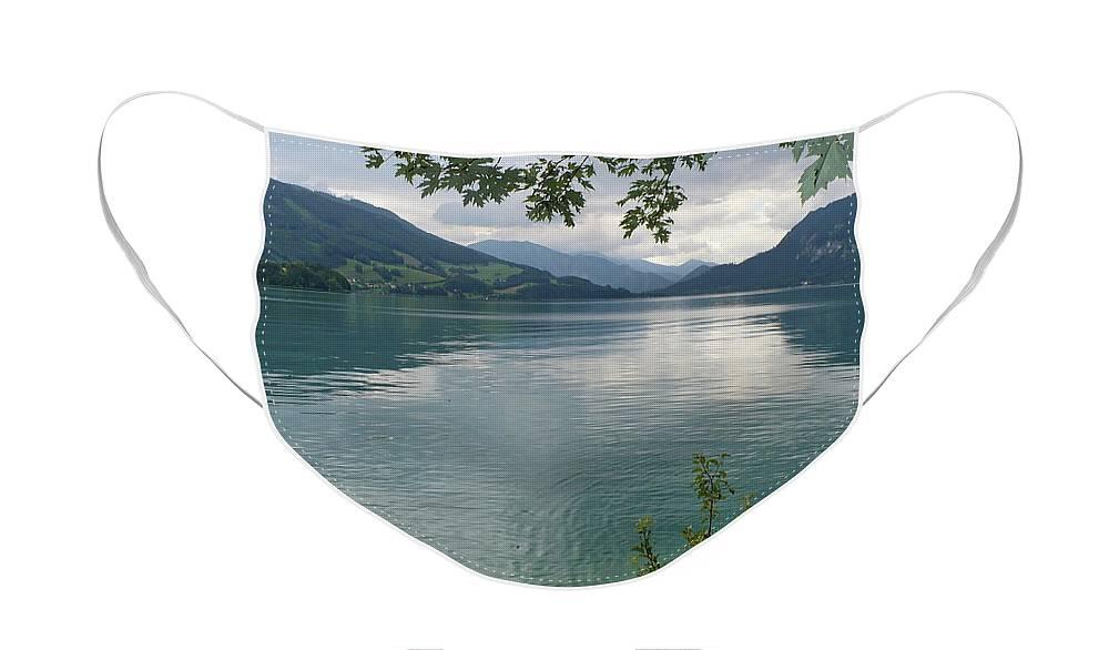 Austria Face Mask featuring the photograph Austrian Lake by Carol Groenen