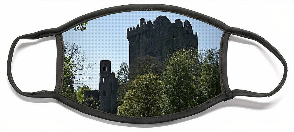 Irish Face Mask featuring the photograph Blarney Castle Ireland by Teresa Mucha
