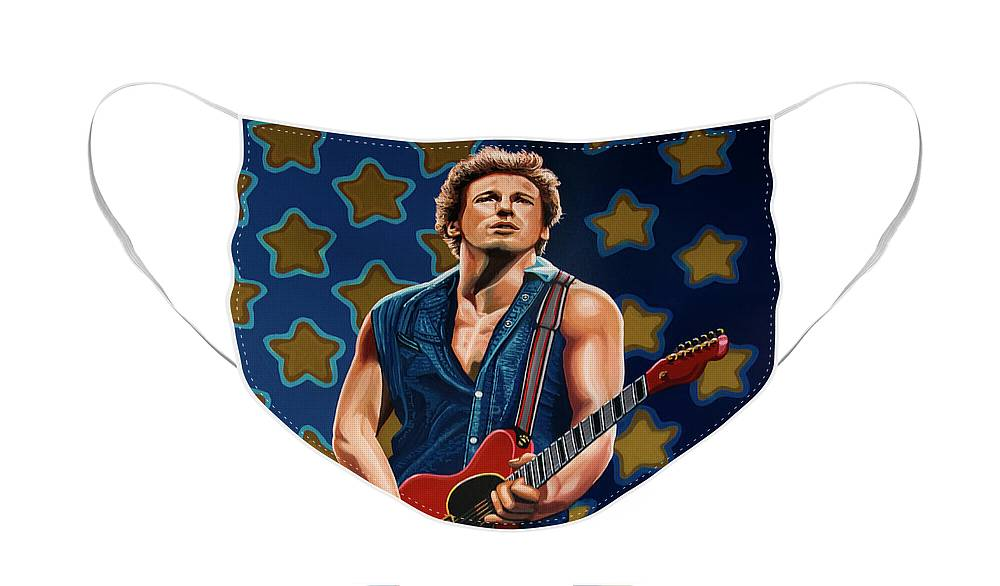 Bruce Springsteen And The E Street Band Face Masks
