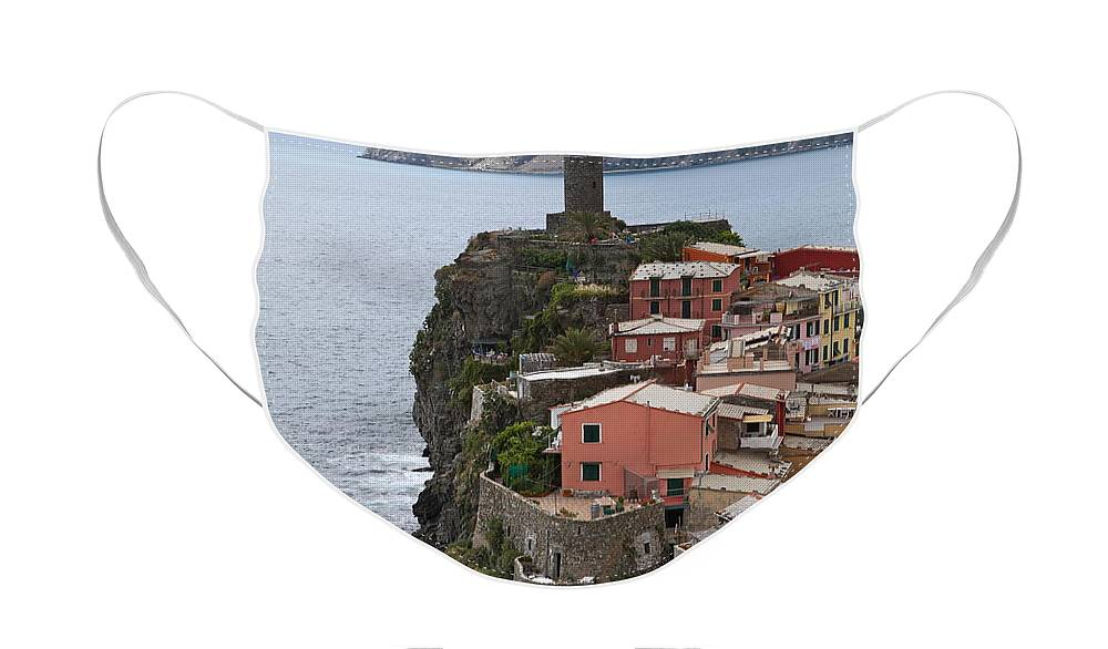 Italy Face Mask featuring the photograph Cinque Terre by Nadine Rippelmeyer