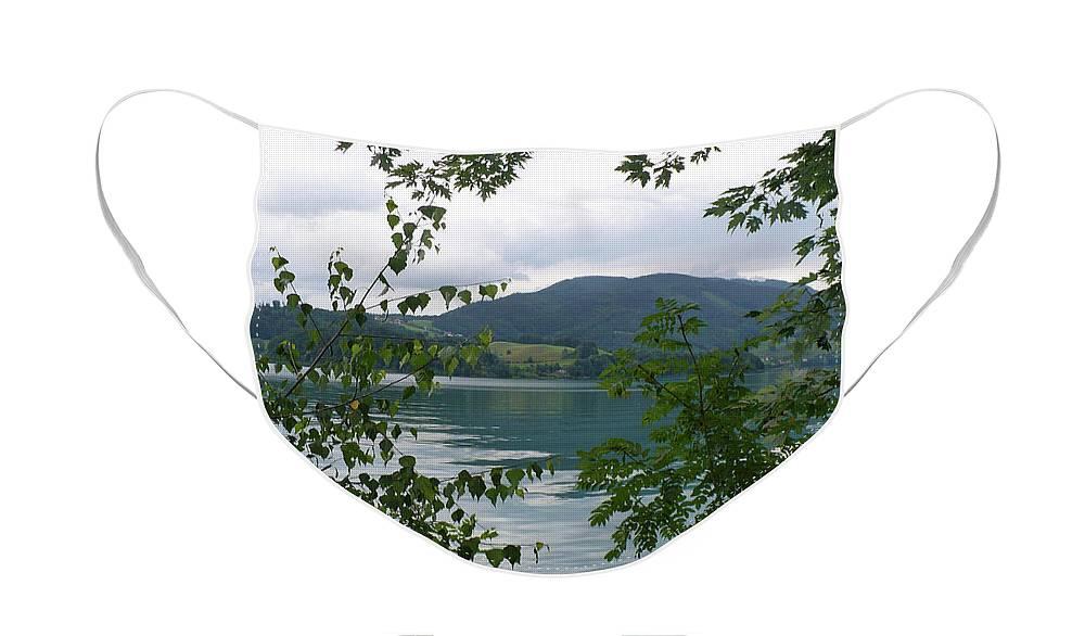 Austria Face Mask featuring the photograph Dreamy Austrian Lake by Carol Groenen