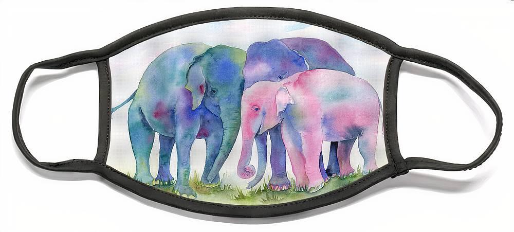 Elephants Face Masks