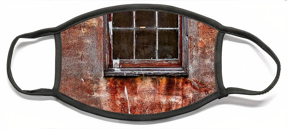 Window Face Mask featuring the photograph Faded Over TIme by Christopher Holmes