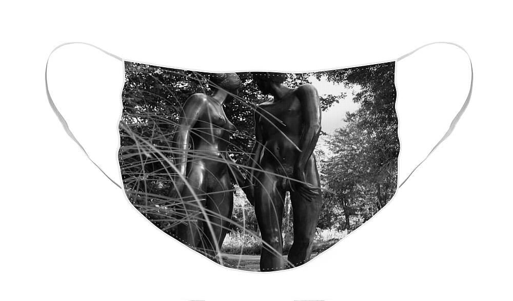 Nature Face Mask featuring the photograph Hand in Hand by Juergen Weiss
