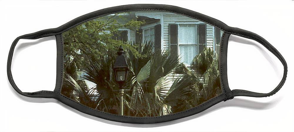 Historic Face Mask featuring the photograph Keywest by Steve Karol