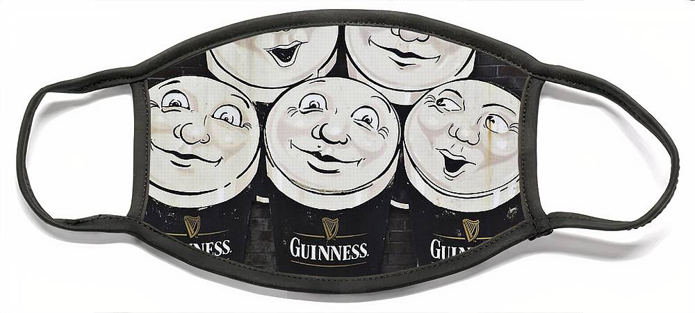 Guinness Face Mask featuring the photograph Late Night Guinness Limerick Ireland by Teresa Mucha