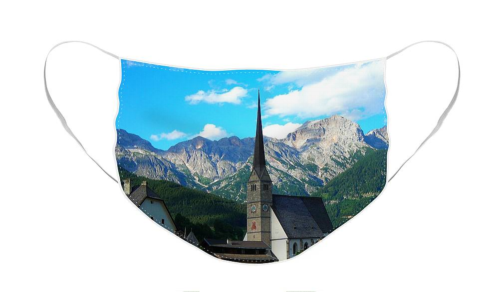 Europe Face Mask featuring the photograph Maria Alm am Steinernen Meer by Juergen Weiss