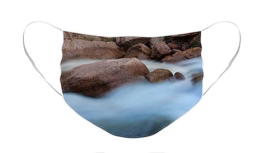 Water Face Mask featuring the photograph Misty Water by James BO Insogna