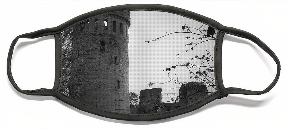 Ireland Face Mask featuring the photograph Nenagh Castle County Tipperary Ireland by Teresa Mucha