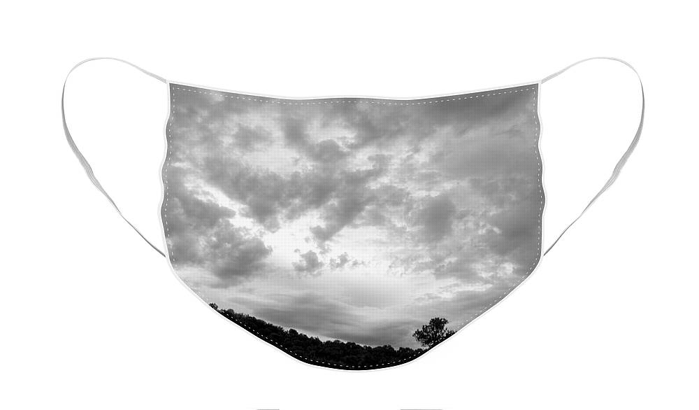Nature Face Mask featuring the photograph New Mexico Landscape by Julia Hiebaum