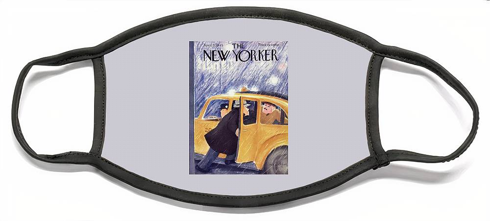 New Yorker April 21 1945 Face Mask