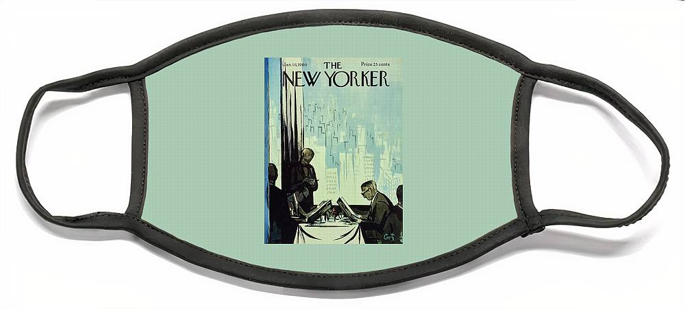 New Yorker January 16 1960 Face Mask