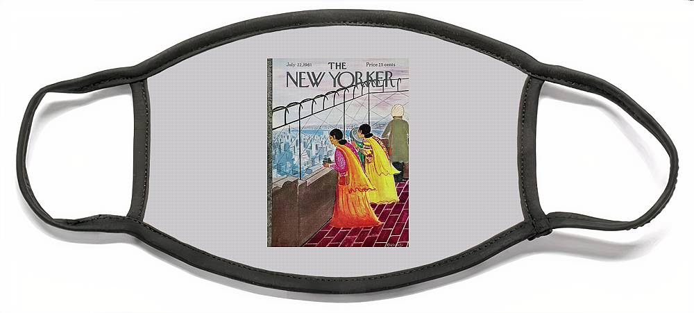 New Yorker July 22 1961 Face Mask