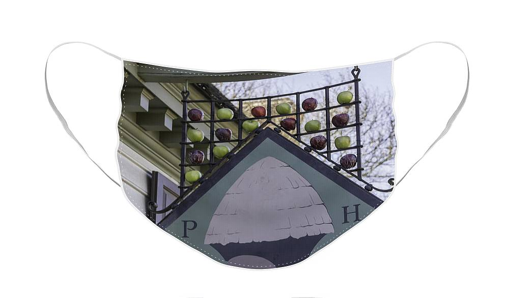 Peter Hay Face Mask featuring the photograph Peter Hay Kitchen Sign by Teresa Mucha