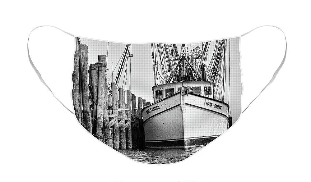Shrimp Face Mask featuring the photograph Port Royal - Miss Sandra by Scott Hansen
