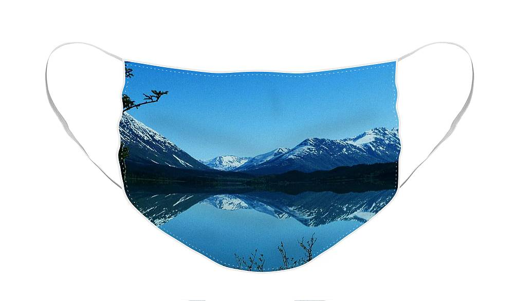 North America Face Mask featuring the photograph Reflections ... by Juergen Weiss