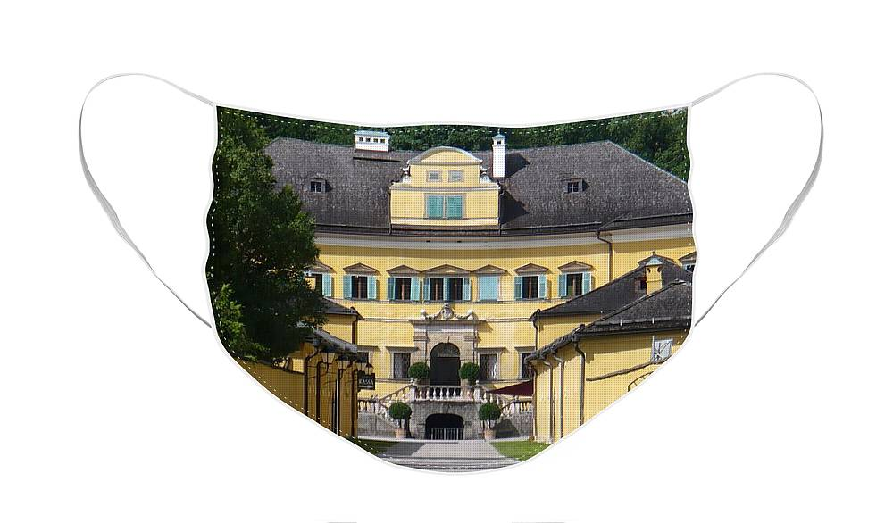 Austria Face Mask featuring the photograph Salzburg Chateau by Carol Groenen
