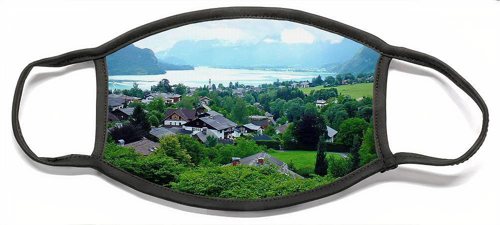 Austria Face Mask featuring the photograph Salzburg Lake District by Carol Groenen